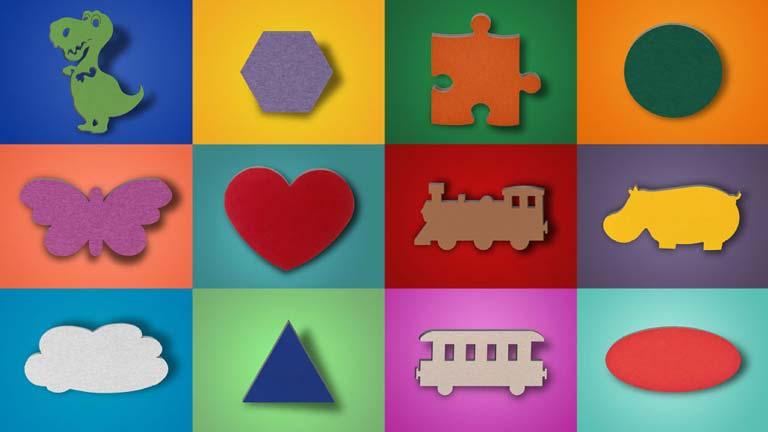 aixFOAM Motief Geluiddempers - Geluiddempers in gekleurde motieven