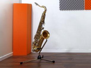Bass trap voor de absorptie van lage tonen