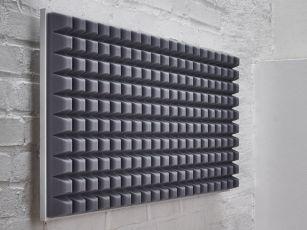 Premium geluidsabsorber met trapeziumvormig profiel