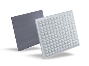 Absorptieplaat voor zwevende plafonds