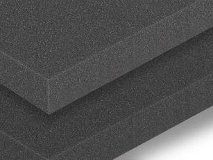 Akoestische geluidsisolerende matten met glad oppervlak