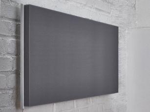 Rechthoekige akoestische panelen met plat oppervlak