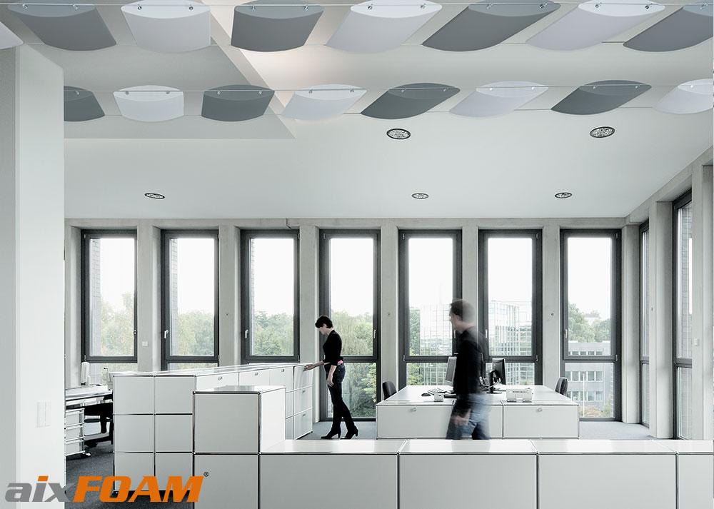 Effectieve merk geluidsisolatie voor kantoren en callcenters for Kantoor architect