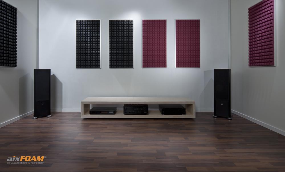 Hoogwaardige geluidsisolatie in de thuisbioscoop en HIFI studio