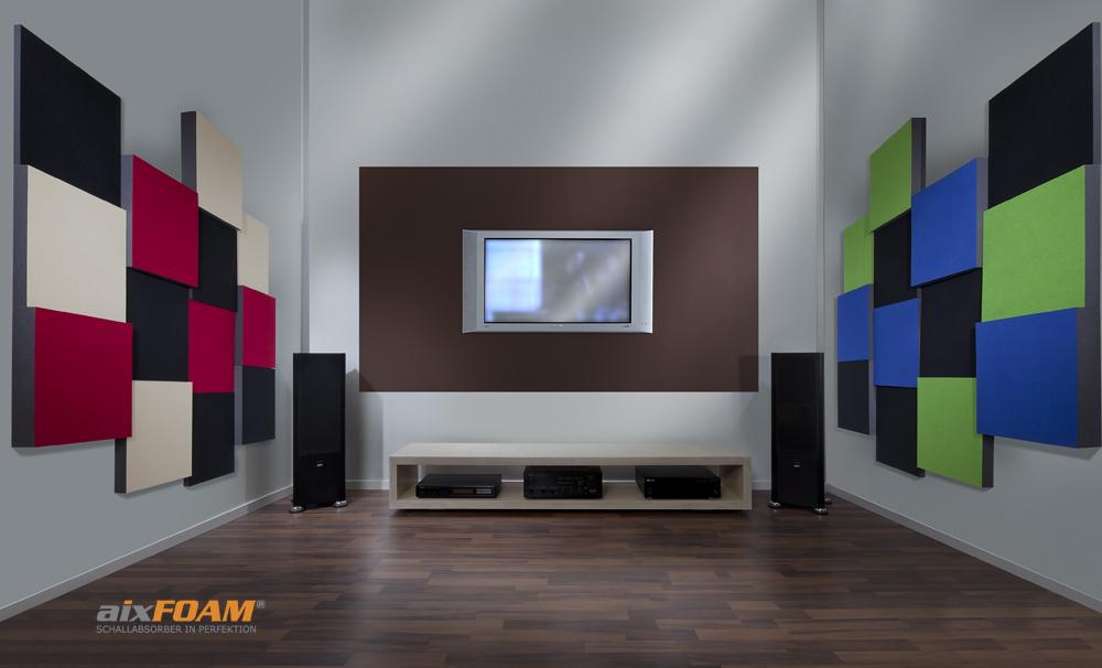 Hoogwaardige geluidsisolatie in de thuisbioscoop en HIFI-studio