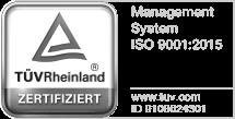 ISO9001 Zertifikat